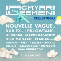 Castiga o invitatie dubla la Backyard Weekend