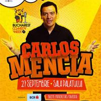 Castiga o invitatie dubla la Carlos Mencia