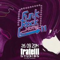 Castiga una dintre cele 5 invitatii duble la evenimentul Funk Rock Hotel 11!