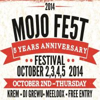 Castiga o invitatie dubla la Mojo FE5T!