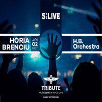 Castiga o invitatie dubla la Horia Brenciu & H.B. Orchestra in Tribute!