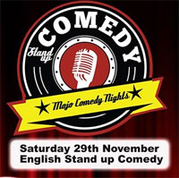 1 invitatie dubla la Mojo Comedy Night - English Stand up Comedy