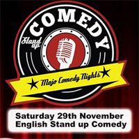 1 invitatie dubla la Mojo Comedy Night - English Stand up Comedy
