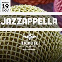 Castiga 2 invitatii duble la concertul trupei Jazzapella din Tribute
