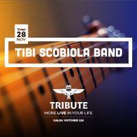 2 invitatii duble la concertul Tibi Scobiola Band din Tribute!