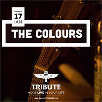 2 invitatii duble la concert The Colours in TRIBUTE