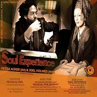 2 invitatii duble la Soul Experience – Petra Acker & Joel Holmes