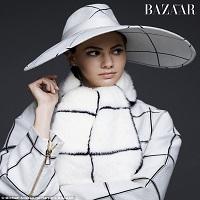 Articole despre Filme - Emma Ferrer, nepoata de 20 de ani a lui Audrey Hepburn, si-a facut debutul in moda pe coperta Harper's Bazaar