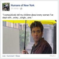 Articole despre Filme - Ce ar spune personajele fictive daca ar aparea in Humans of New York