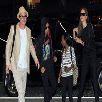 Angelina Jolie - anchetata de FBI. Brad Pitt s-a intalnit cu fiul sau, Maddox