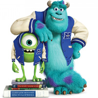 Monsters University - o animatie cu monstri infricosator de simpatici