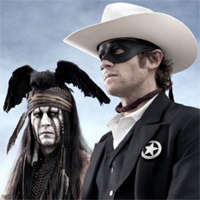 The Lone Ranger - un film ca un desen animat