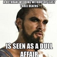 Filme Seriale - #GOT: Un cuplu si-a organizat nunta cu tema Dothraki