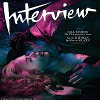 Nicole Kidman, in rolul unei domnite erotice muscate de gat de un barbat, pe coperta Interview