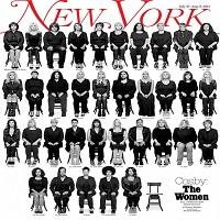 35 de femei care-l acuza pe Bill Cosby de viol au fost fotografiate pe coperta New York Magazine