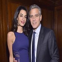 """George Clooney si Amal au flirtat pe covorul rosu de la premiera filmului """"Hail, Caesar!"""""""