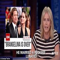 Stiri despre Filme - Chelsea Handler, prietena lui Jennifer Aniston, a facut-o nebuna pe Angelina Jolie in show-ul ei de pe Netflix