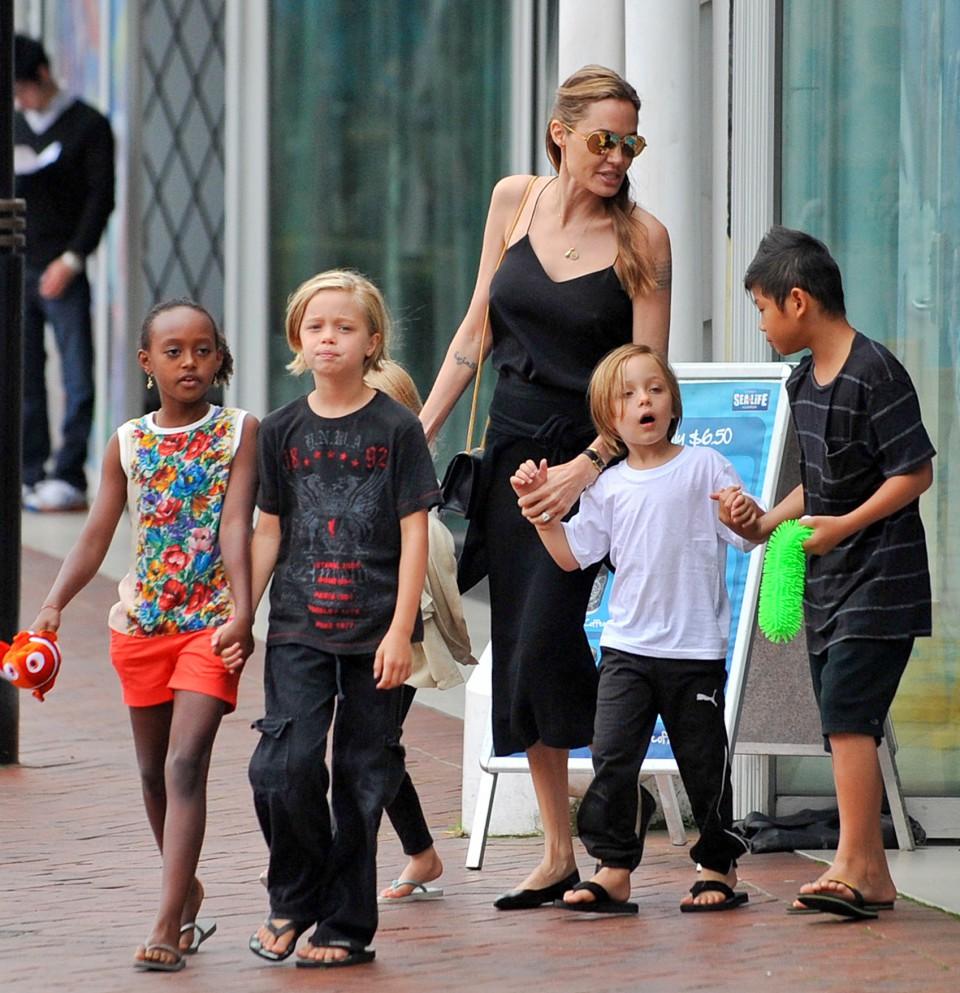 La ce intelegere in privinta custodiei au ajuns Angelina Jolie si Brad Pitt