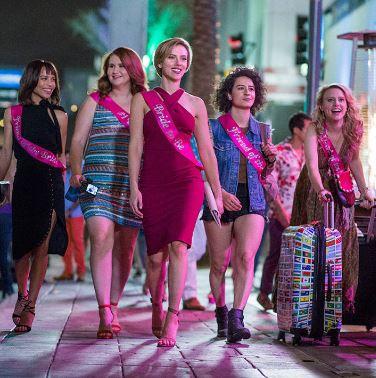 Stiri despre Filme - Scarlett Johansson, Kate McKinnon, Jillian Bell, Ilana Glazer si  Zoë Kravitz omoara din greseala un stripper in noua comedie Rough Night