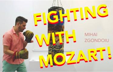 "Platforma de expoziție Arkadia ShortFest prezintă ""Fighting with Mozart!"" - un performance interactiv semnat de Mihai Zgondoiu"