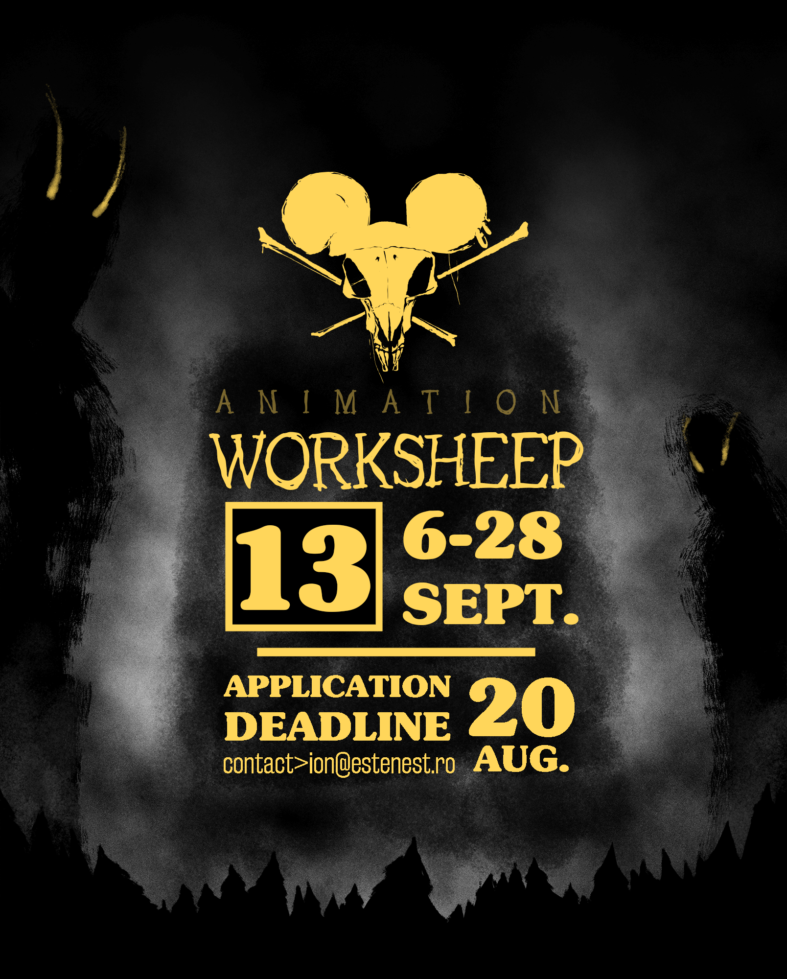 Animation Worksheep #13 a dat start înscrierilor