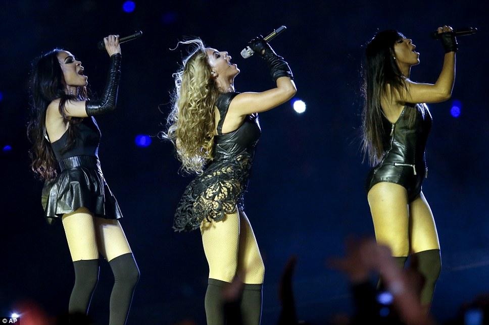 Destiny's Child s-au reunit pentru Super Bowl