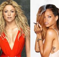 Articole despre Muzica - Rihanna si Shakira canta o piesa in duet