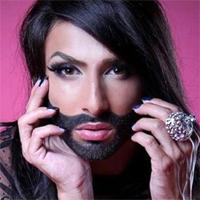 Articole despre Muzica - Conchita Wurst, femeia cu barba, invitata in Romania
