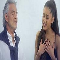 Articole despre Muzica - Andrea Bocelli si Ariana Grande, cea mai neasteptata colaborare a anului