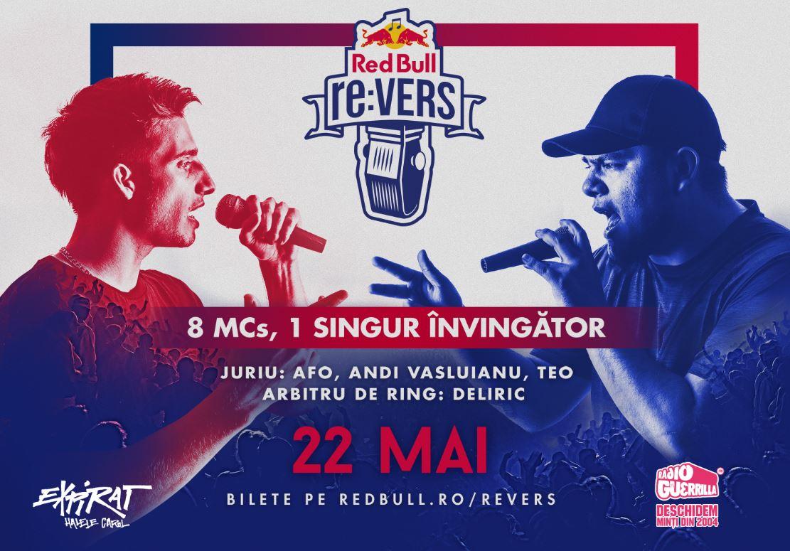8 dintre cei mai buni MCs din țară se bat în rime la prima ediție Red Bull re:VERS din România