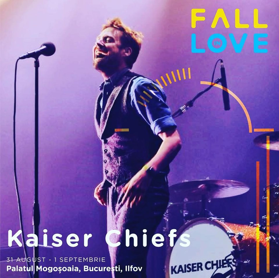 Kaiser Chiefs vin la Fall In Love Festival