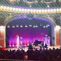 Cronici de Concerte si Evenimente - De la Cer la Pamant - un spectacol magic la Ateneu in cadrul SoNoRo 2014