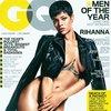 Rihanna goala pe coperta GQ