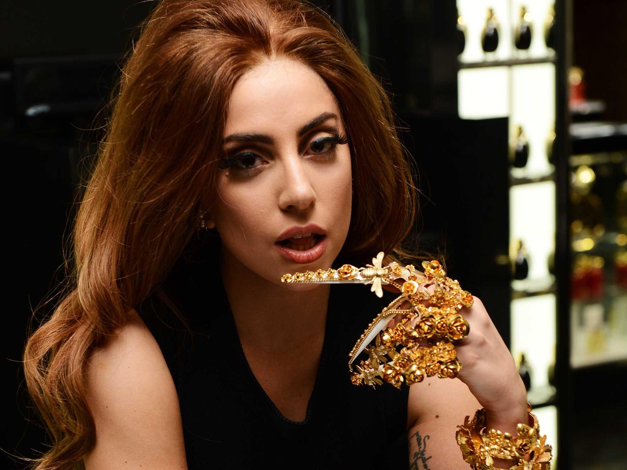 Cea mai socanta poza cu Lady Gaga