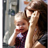 Fotografii adorabile cu Victoria Beckham si fetita ei