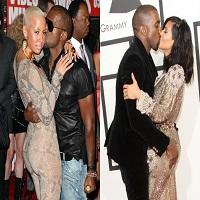 Stiri din Muzica - Amber Rose, fosta lui Kanye West, tocmai a facut un selfie cu Kim Kardashian si toata lumea a devenit confuza