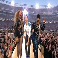 Stiri din Muzica - Beyonce si Bruno Mars au cantat alaturi de Coldplay la Super Bowl 2016, iar showul a fost incendiar