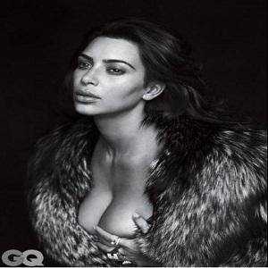Stiri din Muzica - Kim Kardashian a pozat nud pentru prima ei coperta pentru GQ