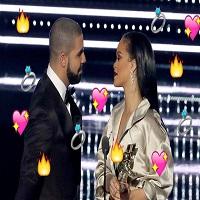 Stiri din Muzica - Mister elucidat, fani fericiti - Rihanna chiar l-a sarutat pe Drake