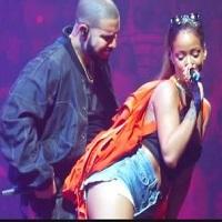Rihanna- aparitie surpriza in cadrul concertului lui Drake