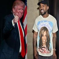 """Stiri din Muzica - Kanye West, declaratie-soc in timpul unui concert - """"L-as fi votat pe Trump"""""""