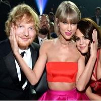 Stiri din Muzica - Ed Sheeran s-a combinat cu mai multe prietene din grupul lui Taylor Swift