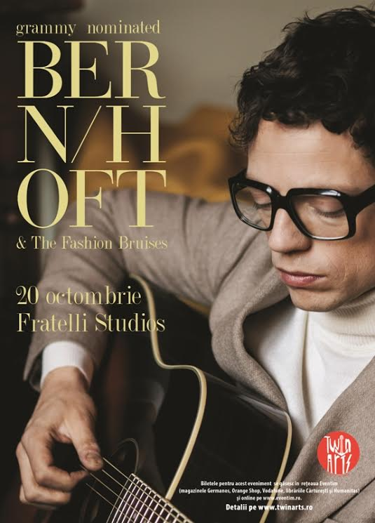 Bernhoft & The Fashion Bruises în concert la Fratelli Studios