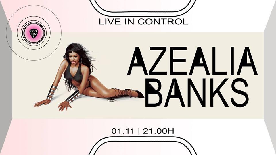Azealia Banks live | Control