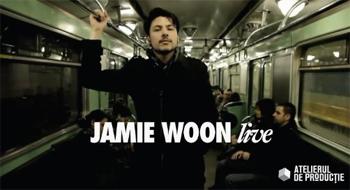 Jamie Woon la Atelierul de Productie, pe 19 noiembrie