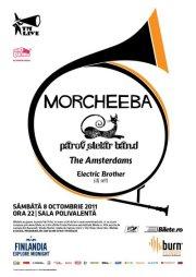 Morcheeba si Parov Stelar Band la Sala Polivalenta, pe 8 octombrie
