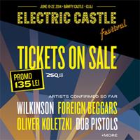 Stiri Evenimente Muzicale - Primele 4 nume din line up-ul celei de-a doua editii a Festivalului Electric Castle