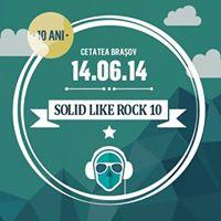 Stiri Evenimente Muzicale - Solid Like Rock va asteapta la Cetatea Brasovului pe 14 iunie (P)