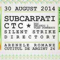 Stiri Evenimente Muzicale - Lansare SONOR la Arenele Romane - Concert Subcarpaţi, CTC şi Silent Strike