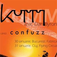 Stiri Evenimente Muzicale - Kumm si Dan Byron canta Confuzz in Fabrica - 150 de luni de la lansare